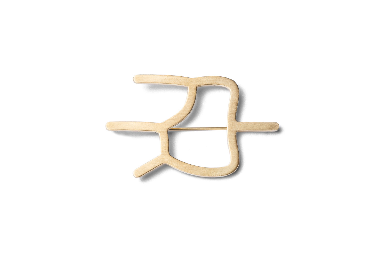 gold tooth brooch Hypoallergenic stainless steel